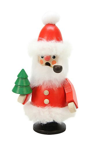 German Incense Smoker Santa Claus red - 12,0 cm / 5 inch - Christian ()