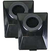 2 Replacements for Rainbow E2 HEPA Style Filters Fits E2-Series, Compatible With Part # R12179 & R12647B, Washable & Reusable, by Think Crucial