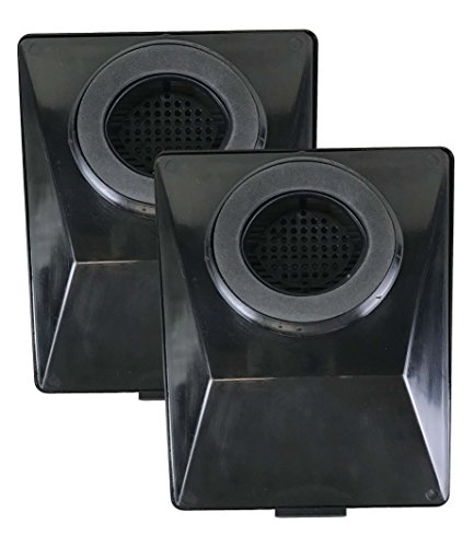 Replacement Washable Hepa Filters (2 Replacements for Rainbow E2 HEPA Style Filters Fits E2-Series, Compatible With Part # R12179 & R12647B, Washable & Reusable, by Think Crucial)