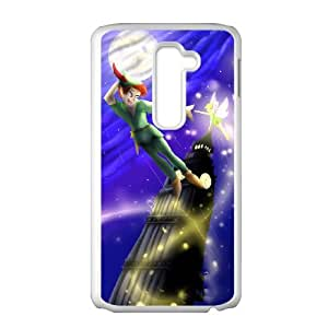 LG G2 Cell Phone Case White Peter Pan Clear Phone Cases Plastic AAE