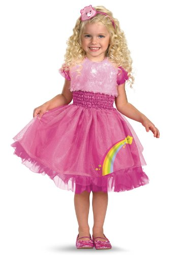 Frilly Cheer Bear Toddler Costume - Toddler Medium