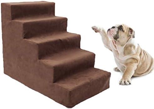 Gesteam Escaleras para Mascotas para Ros Espuma Acolchada Extraíble Lavable Gato para Mascotas Escaleras para Ros Pasos para Mascotas Escalera para Mascotas, 5-Stöckige Treppe: Amazon.es: Productos para mascotas