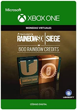 Tom Clancys Rainbow Six Siege Currency pack 600 Rainbow credits ...