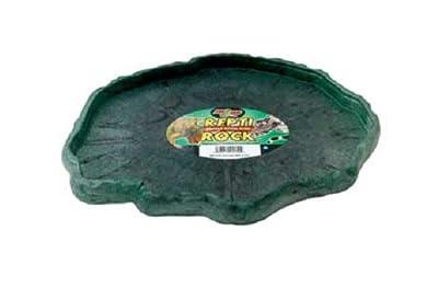 Zoo Med Reptile Rock Food Dish(colors may vary)
