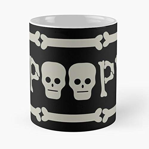 Spoopy Meme Halloween Spooky - 11 Oz Coffee Mugs Unique Ceramic Novelty Cup, The Best Gift For Halloween. -