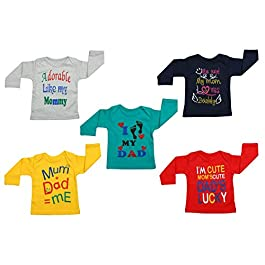 Best T-Shirts For Baby Boy And Girl (Pack of 5)
