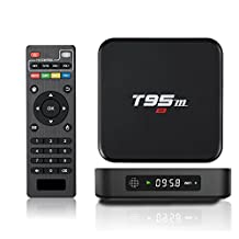 MaQue Android TV Box T95M 4K 1G/8G Android 6.0 Marshmallow OS Amlogic S905X TV BOX Smart Media Player