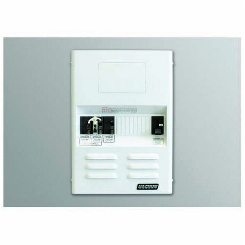 Magnum Energy MMP250-60S MMP-Series Mini Magnum Panel with 250 (fits 12 VDC and 24 VDC models) A DC Breaker and 60A Single Pole AC Input Breaker Fits one ME, RD, MS, MS-AE or MS-PAE