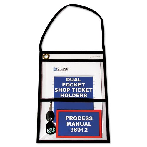 (C-Line - Shop Ticket Holders, Stitched, Both Sides Clear, 9 x 12, 15/BX 38912 (DMi)