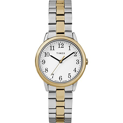 - Timex Women's TW2R58800 Easy Reader 31mm Two-Tone Stainless Steel Expansion Band Watch