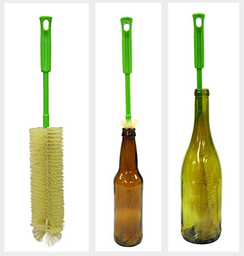 Long Bottle Brush Cleaner For Washing Beer, Wine, Kombucha, Decanter, Brewing Bottles Icon