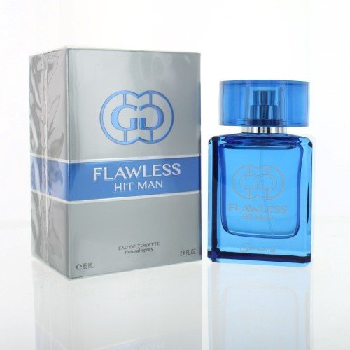 FLAWLESS HIT MAN BY GEMINA B GEPARLYS COLOGNE FOR MEN 2.8 OZ / 85 ML EAU DE TOILETTE SPRAY