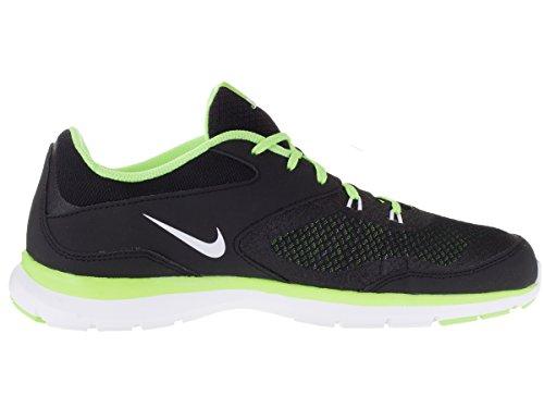 Nike Flex Trainer 4de la mujer zapatos Black/White/Ghost Green