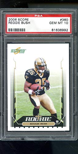 2006 Score #360 Reggie Bush ROOKIE CARD RC GEM MINT PSA 10 Graded Football Card