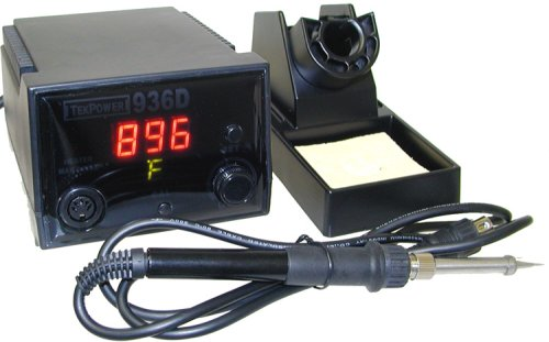 TekpowerTP936D 40 Watts Digital Soldering Station, working as Weller WLC100