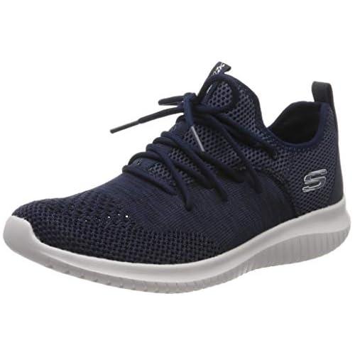 chollos oferta descuentos barato Skechers Ultra Flex windsong Zapatillas para Mujer Azul Navy Nvy 38 EU