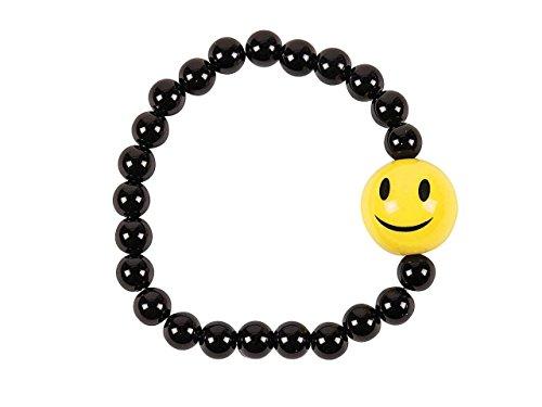 Oriental Trading Company Beaded Bracelets (Smile Face Beaded Bracelets)