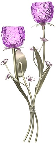 Zingz and Thingz Fuchsia Blooms Wall Sconce by Zingz & Thingz