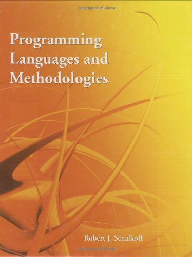 Programming Languages And Methodologies