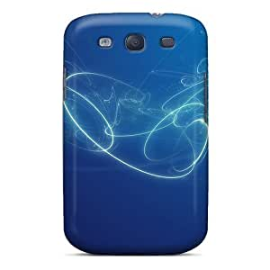 Anti-scratch And Shatterproof Heart Twirl Phone Case For Galaxy S3/ High Quality Tpu Case