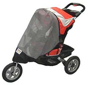 Sashas Sun, Wind and Insect Cover for Jeep Liberty Sport/Limited Single Stroller