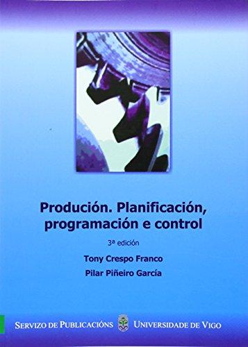 Price comparison product image PRODUCION. PLANIFICACION,  PROGRAMACION E CONTROL