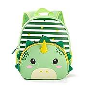 Toddler Backpack, Waterproof Preschool Backpack, 3D Cute Cartoon Neoprene Animal Schoolbag for Kids, Lunch Box Carry Bag…
