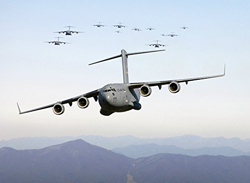 Home Comforts LAMINATED POSTER Transport Military Cargo Aircraft Aircraft Cargo Poster 24x16 Adhesive Decal