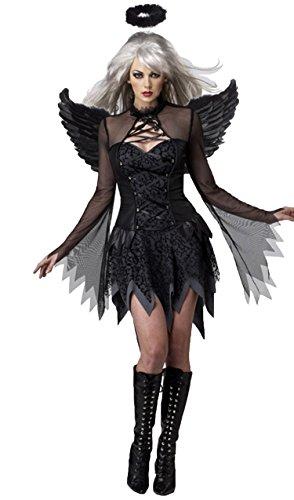 Details Costume Ren Kylo (InCharacter Costumes Women's Dark Angel's Desire Costume)