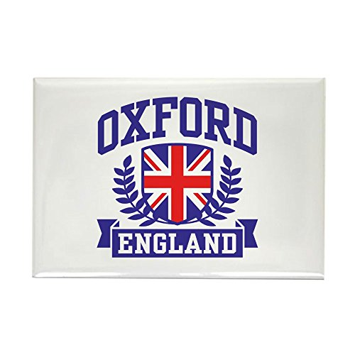 (CafePress Oxford England Rectangle Magnet, 2