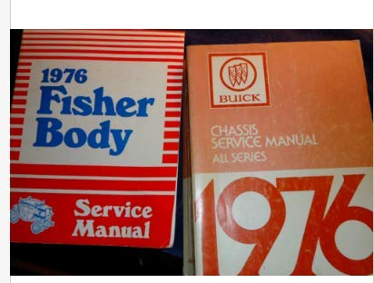 1976 Buick ALL MODELS Riviera Skylark Century Service Repair Shop Manual Set ()