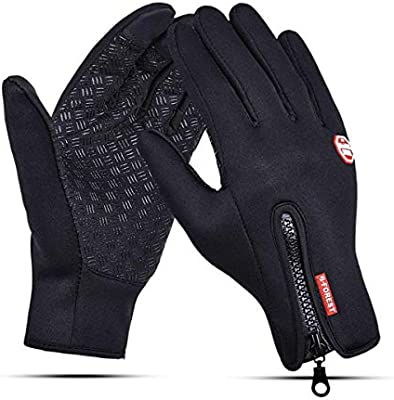 FULL FINGER Pro Cycling Gloves Pair  Windproof for Men Touch Screen Gloves UK