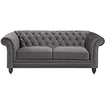 Amazon Com Homelegance St Claire Traditional Style Loveseat With