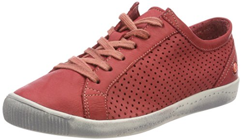 008 Sneaker Donna red Ica388sof Rosso Softinos Washed Y7xawZU