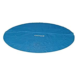 41CMk%2BJ7jrL. SS300  - Intex Solar Cover for 18ft Diameter Easy Set and Frame Pools