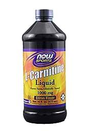 Now Foods L-Carnitine Liquid Citrus Flavor 1000 mg - 16 oz.