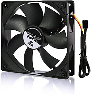 AAB Cooling Black Silent Fan 12: Amazon.es: Electrónica