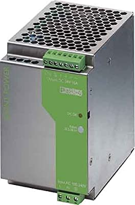 Phoenix Contact QUINT-PS-100-240AC/24DC/10 DIN Rail Power Supply 24Vdc 10A 240W, 1-Phase