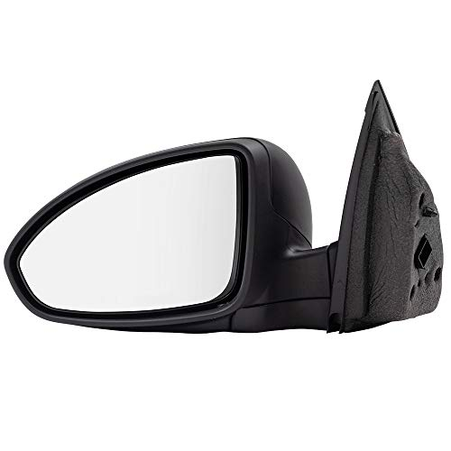 BROCK Power Side View Mirror Driver for 11-15 Chevrolet Cruze 16 Cruze Limited Textured Black - Side View Cruze Mirror