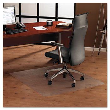 Floortex 1215015019ER Cleartex Ultimat XXL Polycarbonate Chair Mat for Hard Floors, 60 x 60, Clear by Floortex