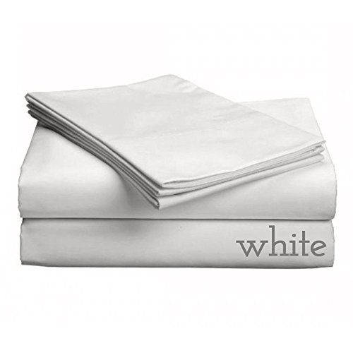 Gotcha The Classic Collection American Leather Comfort Sleeper White Cotton Percale Sheet Set Queen Plus (Leather Sheet Set)