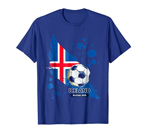 Iceland World Football Cup Soccer Jersey Russia 2018 Tshirt