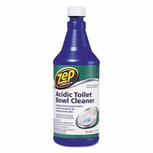 Zep Commercial 1046423 Acidic Toilet Bowl Cleaner, 32 oz Bottle (Bowl Cleaner Acid)