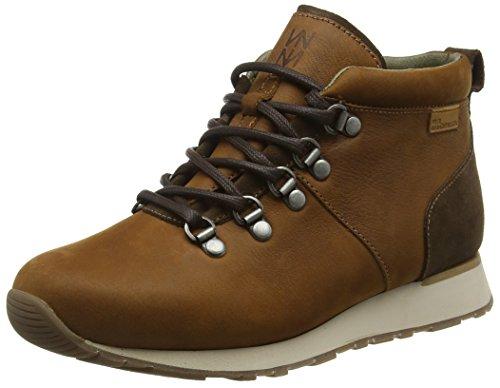 El Naturalista Nd62 Pleasant-Lux Suede Wood-Brown/Walky, Scarpe da Ginnastica Alte Unisex-Adulto, Marrone (Wood-Brown NNK), 45 EU