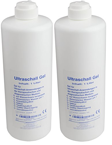 Ultraschallgel 2 x 1000 ml Sono- Gel - Ultraschall - Gleitgel Seidel Medizin ...