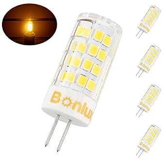Bonlux G4 Bi Pin Base Led Bulb 4 Watts 120v Warm White T3