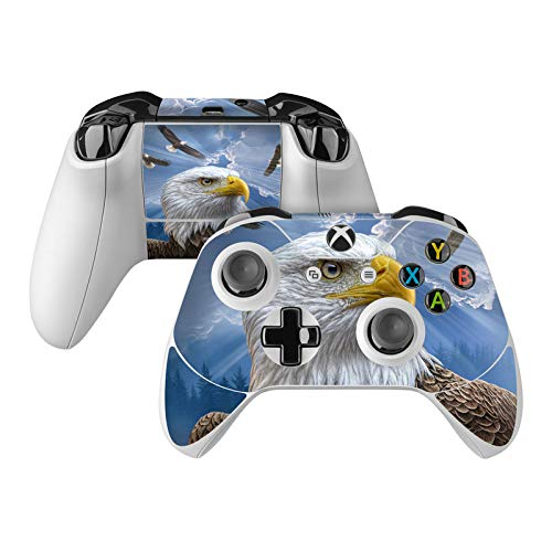 Guardian Eagle Skin Decal Compatible with Microsoft Xbox One and One S Controller - Full Cover Wrap for Extra Grip and Protection from DecalGirl