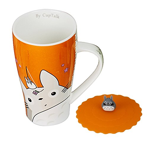 cute mug cup with lid - 5