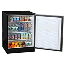 Summit FF7BBIKEYPAD: Commercially approved under-counter all refrigerator with fan-cooled compressor for built-in use and front-mounted keypad lock