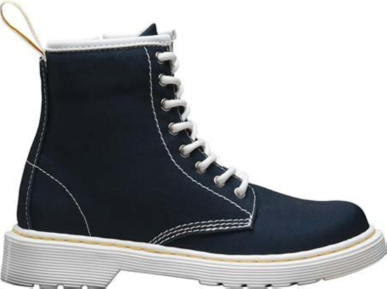 Dr. Martens Junior Navy Delaney Boots-UK 1